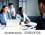 recruiter checking the... | Shutterstock . vector #525019720