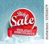 concept of discount. sale... | Shutterstock .eps vector #525028279