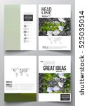 set of business templates for... | Shutterstock .eps vector #525035014