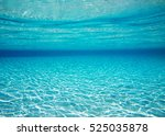 underwater shoot of an infinite ... | Shutterstock . vector #525035878
