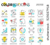 color box icons  growth hacking ...