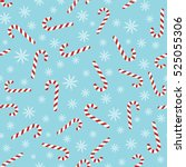 christmas vector seamless blue...