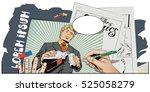 stock illustration. people in... | Shutterstock .eps vector #525058279