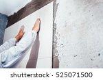 industrial worker  handyman... | Shutterstock . vector #525071500