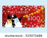 christmas and new year gift...   Shutterstock .eps vector #525072688
