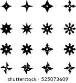 Throwing Stars Ninja Star Icons