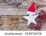 Christmas Season  White Wooden...