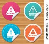 round stickers or website... | Shutterstock .eps vector #525096070