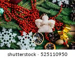 extensive series of holiday... | Shutterstock . vector #525110950