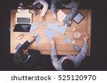 business people teamwork... | Shutterstock . vector #525120970
