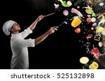 food musical harmony | Shutterstock . vector #525132898