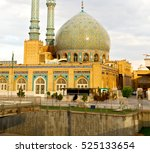 blur in iran  and old antique... | Shutterstock . vector #525133654