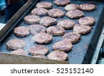 beef burgers at a greasy spoon... | Shutterstock . vector #525152140