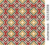 bright seamless pattern with...   Shutterstock .eps vector #525153058