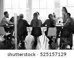 people meeting seminar office... | Shutterstock . vector #525157129