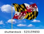 flag of the us state of... | Shutterstock . vector #525159850