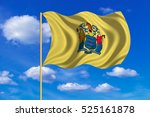 flag of the us state of new... | Shutterstock . vector #525161878
