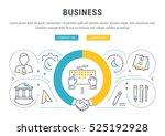 flat line illustration of... | Shutterstock .eps vector #525192928