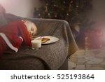 Boy Waiting For Santa