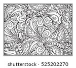 vector abstract pattern page... | Shutterstock .eps vector #525202270