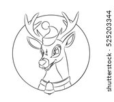 children coloring pages with...   Shutterstock .eps vector #525203344