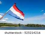 Dutch Flag Waving On The Stern...