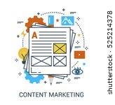 infographic flat design concept ...   Shutterstock .eps vector #525214378