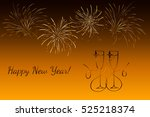 fireworks   abstract holiday...   Shutterstock .eps vector #525218374