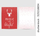 Merry And Bright Lettering...