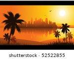 summer background | Shutterstock .eps vector #52522855