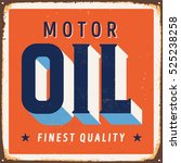 Vintage Metal Sign   Motor Oil...