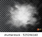 fog or smoke isolated... | Shutterstock .eps vector #525246160
