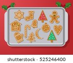 set of vector icons of ginger... | Shutterstock .eps vector #525246400