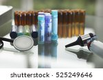 medicine alternative homeopathy ... | Shutterstock . vector #525249646