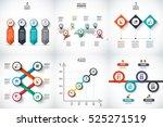 business data visualization.... | Shutterstock .eps vector #525271519