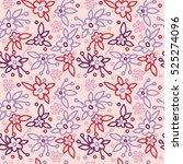 floral pattern | Shutterstock .eps vector #525274096