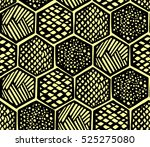 hand drawing seamless vector... | Shutterstock .eps vector #525275080
