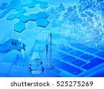 3d illustration of biochemical... | Shutterstock . vector #525275269