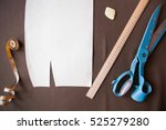 still life photo of a suit...   Shutterstock . vector #525279280