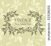 vintage background | Shutterstock .eps vector #52528033