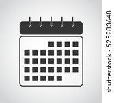 mobile calendar icon. calendar...