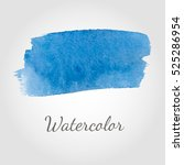 abstract watercolor brush... | Shutterstock .eps vector #525286954
