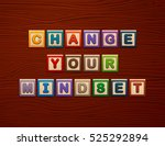 """cubes with letters """"change your ... 