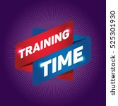 training time arrow tag sign. | Shutterstock .eps vector #525301930
