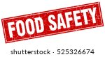 food safety. stamp. square... | Shutterstock .eps vector #525326674