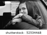 attractive young woman in... | Shutterstock . vector #52534468