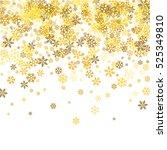 abstract pattern of random... | Shutterstock .eps vector #525349810
