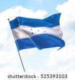 Flag Honduras Raised Up Sky - Fine Art prints