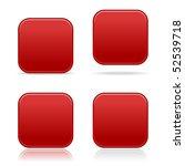 matted vinous blank rounded... | Shutterstock .eps vector #52539718