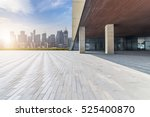 panoramic skyline and buildings ... | Shutterstock . vector #525400870